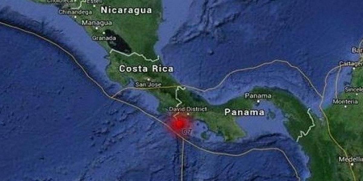 Sismo de magnitud 5.2 estremece a Costa Rica y Panamá