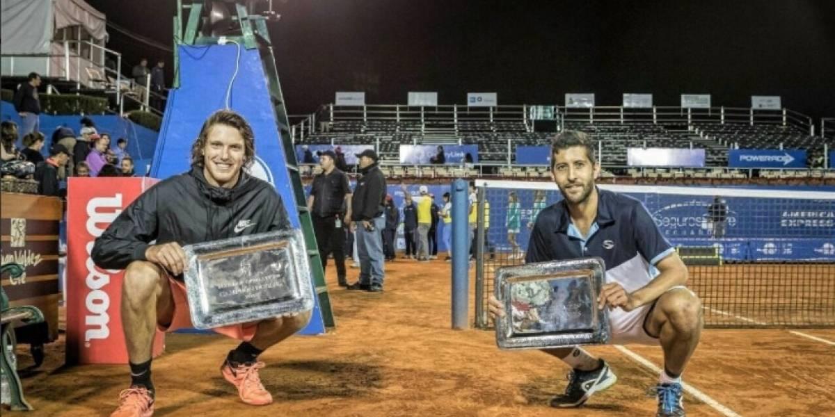 Jarry y Podlipnik ganaron el dobles en Quito y le dan a Chile un título que no tenía hace 14 años