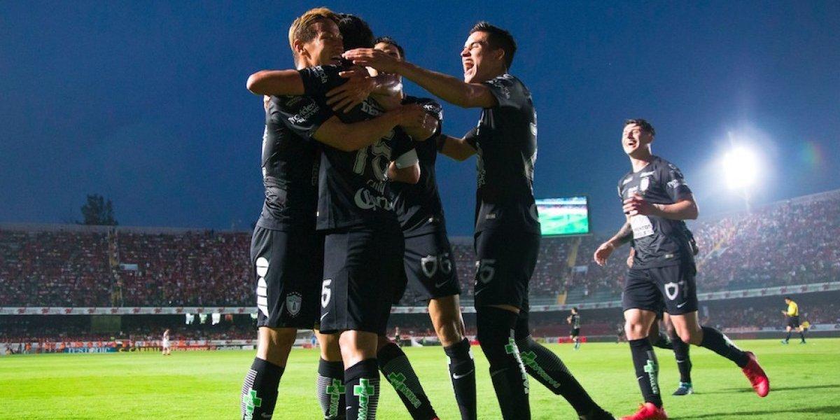 Pachuca derrota a Veracruz en su casa