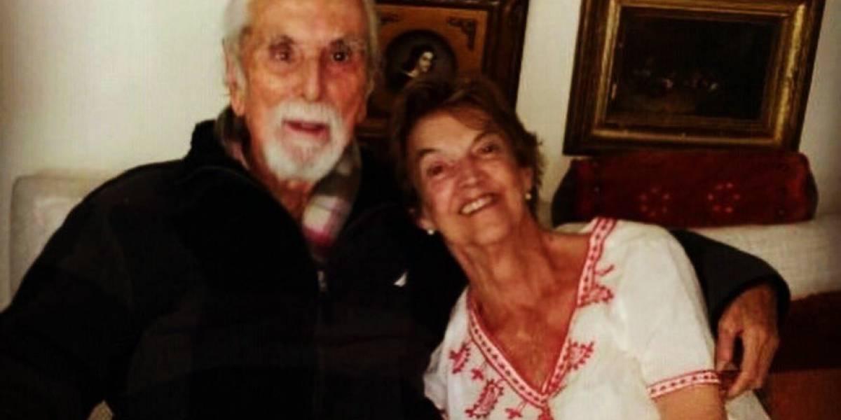 Muere a los 90 años Mónica Chiorrini, esposa de Andrés Aylwin