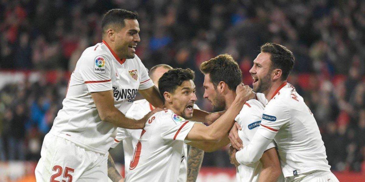 Sevilla derrota al Girona con Miguel Layún de cambio