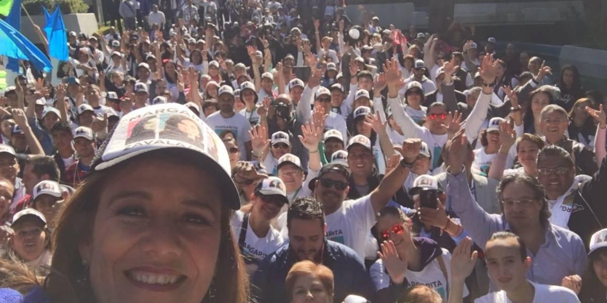 Nadie puede prohibirme hacer política: Margarita Zavala