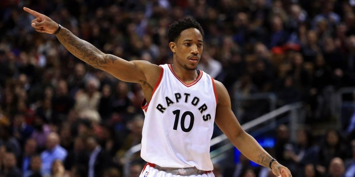 DeRozan da a los Raptors su quinta victoria seguida
