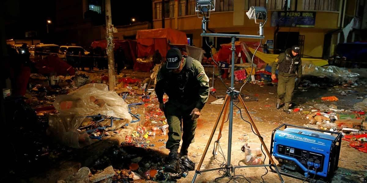 Explosão em festa de carnaval na Bolívia deixa 6 mortos