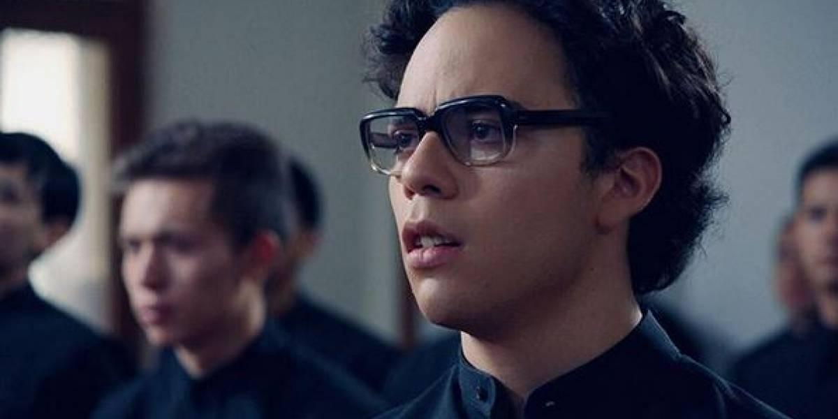 Él es Sebastián Gutiérrez, el actor que interpreta a Jaime Garzón adolescente