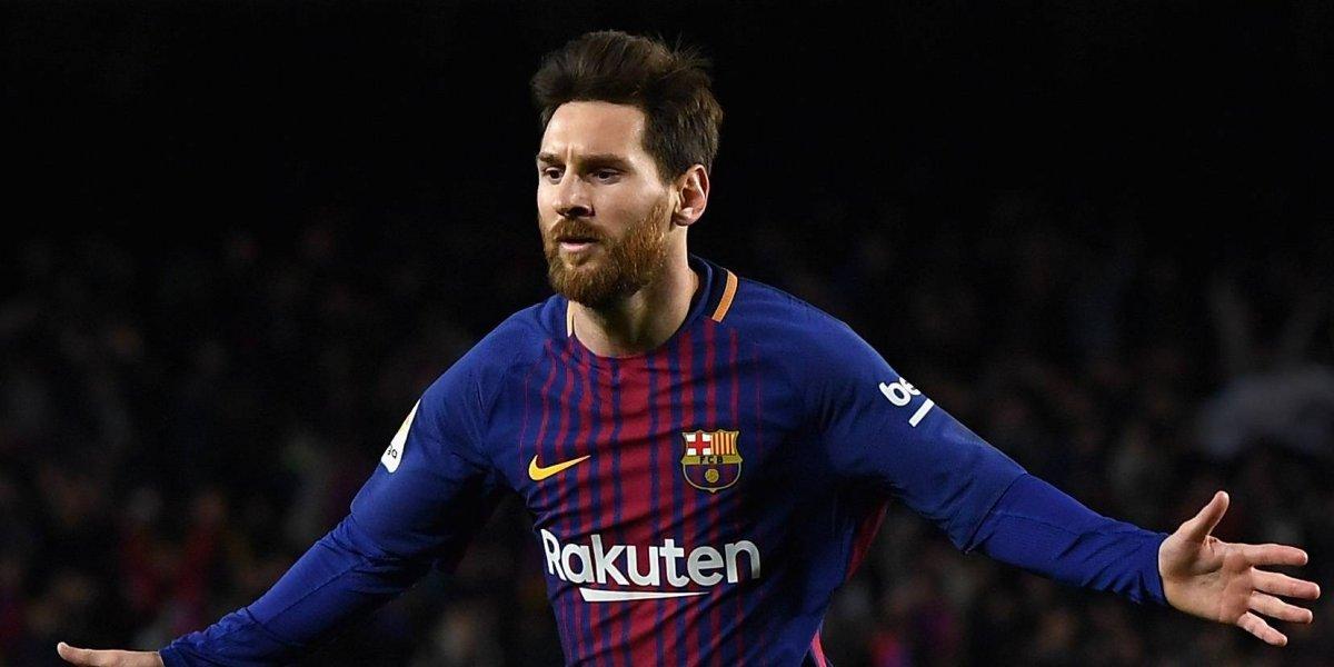 Aparece fotografía de un señor que se parece a Messi