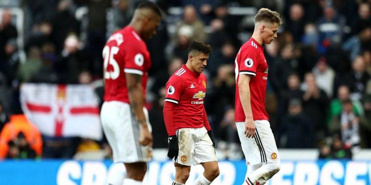 Alexis no pudo maravillar y el United está cada vez más lejos del título de la Premier
