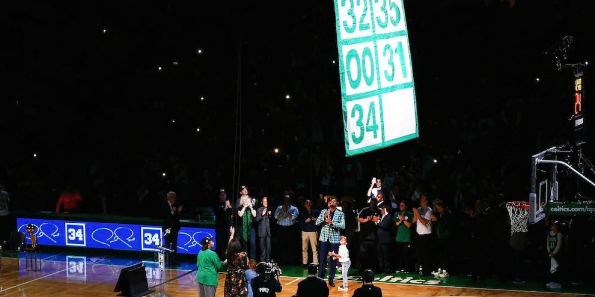 Celtics retiran número de su ex estrella Paul Pierce