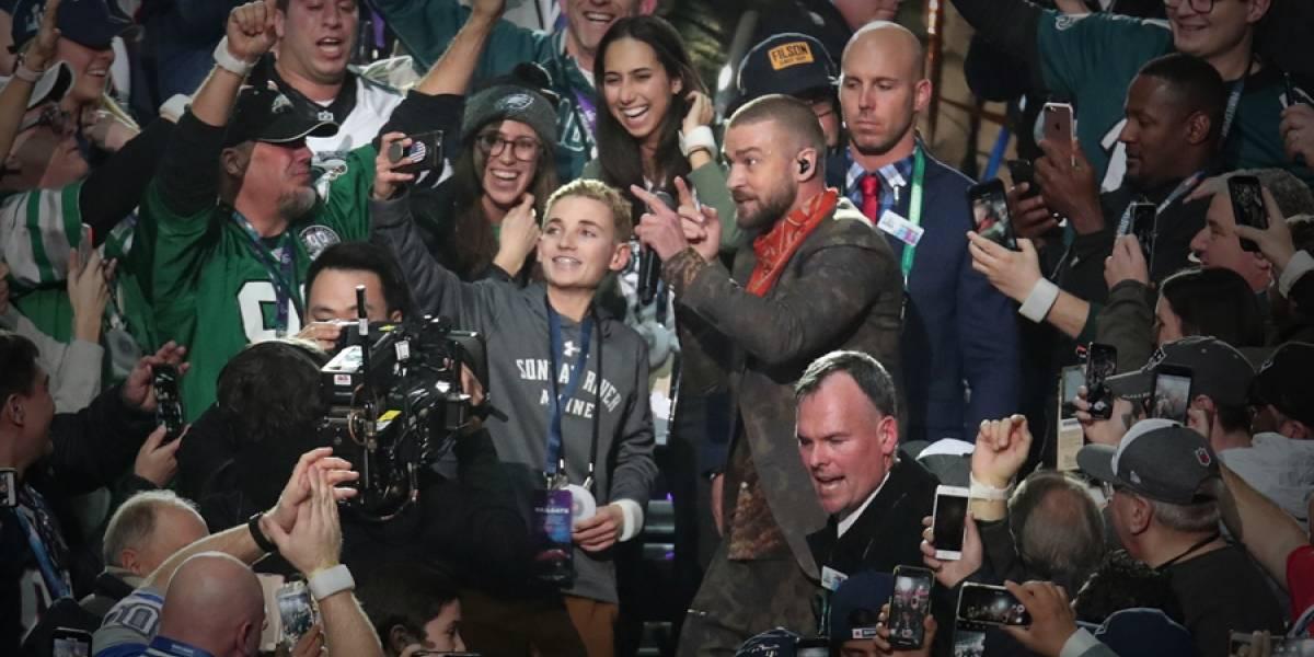 "El sorpresivo regalo que Justin Timberlake le hizo al ""Selfie Kid"" del Super Bowl"