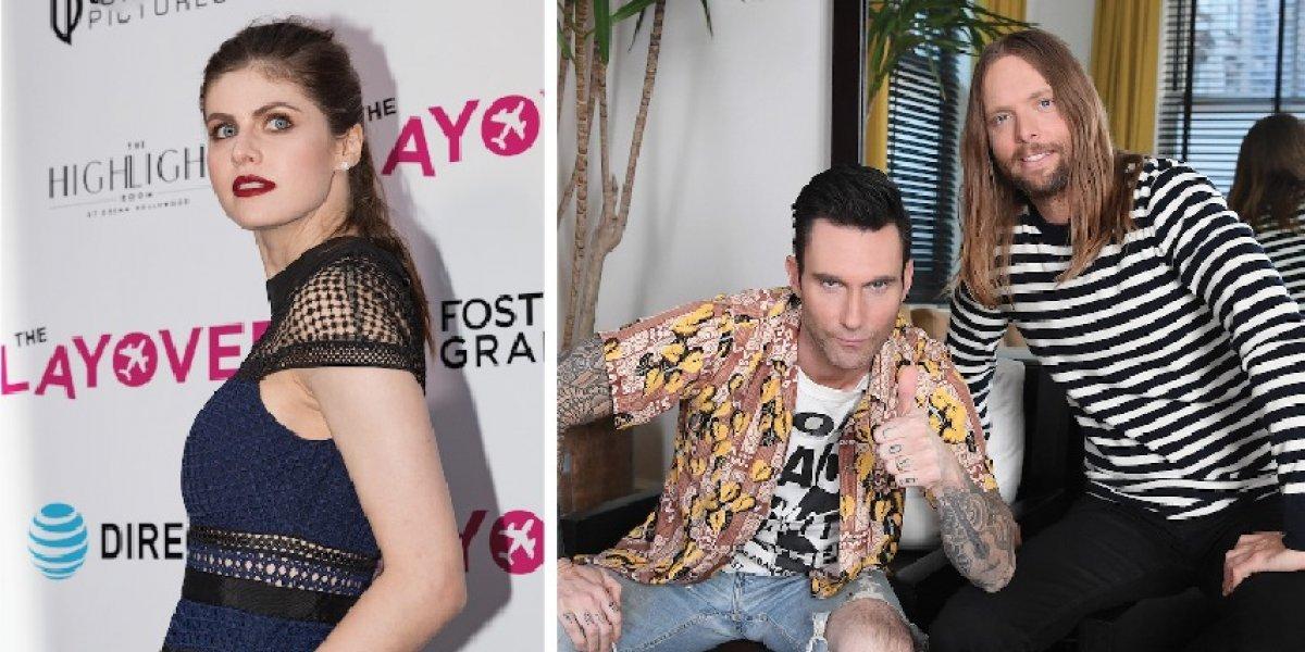 """¿Quién es la sexy actriz en """"Wait"""", el nuevo video de Maroon 5"""