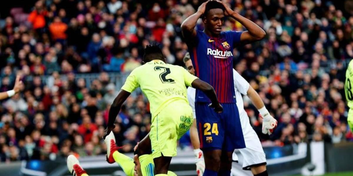 ¿Yerry Mina titular en el próximo partido del Barcelona?