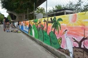 Murales en Izabal