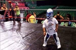 Microman, la pequeña gran estrella de la Lucha Libre