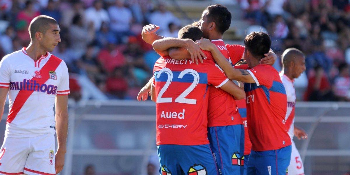 La UC de Beñat muestra sus pergaminos con una sólida victoria ante Curicó Unido