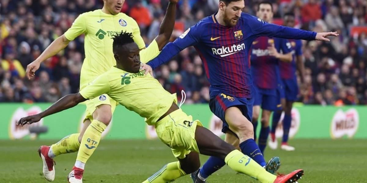 El Barcelona se atasca ante el Getafe