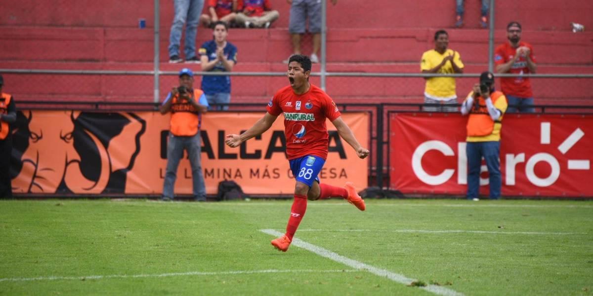 Altán le da la victoria aMunicipal sobre Guastatoya