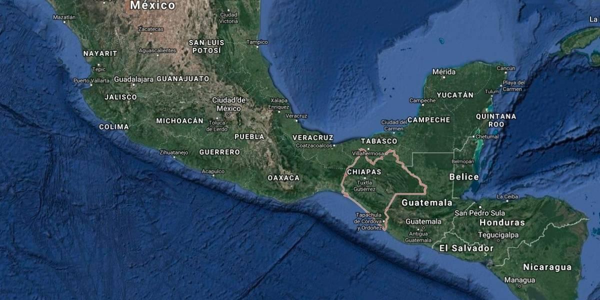Se registra sismo de 4.8 en Chiapas