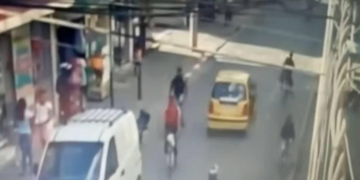 Mujer se salva de ser secuestrada por un supuesto taxista en Bogotá