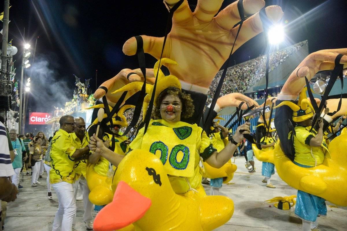 Desfile da Tuiuti chamou a atenção por fortes críticas políticas Brazil Photo Press/Folhapress