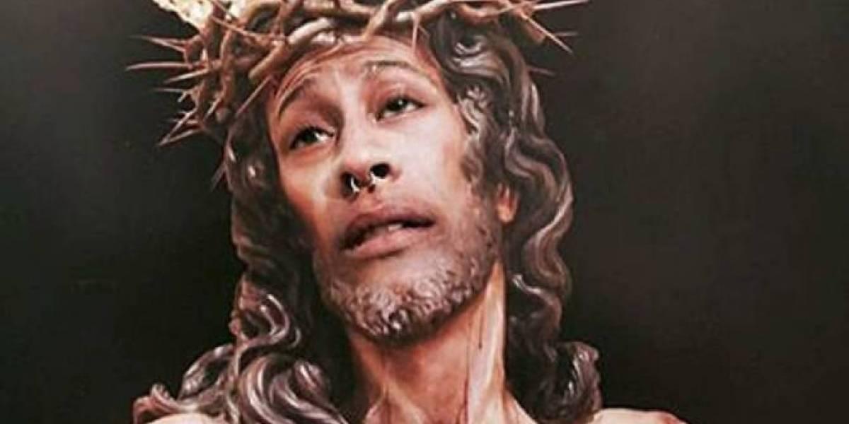 Multaron a un joven por publicar montaje de Jesucristo en Instagram