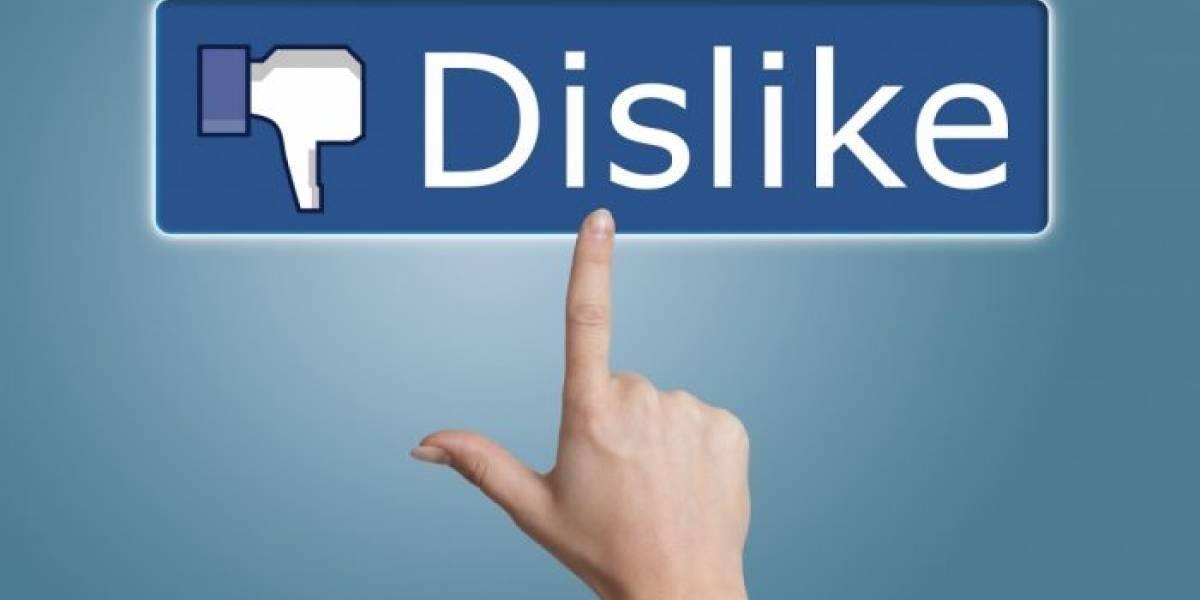 """Facebook ya está probando el botón """"No me gusta"""""""