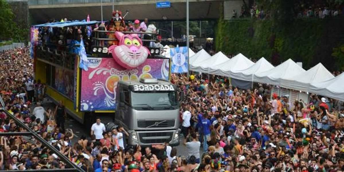 Carnaval de rua na Av. 23 de Maio atrai mais de 1 milhão de pessoas em Sampa
