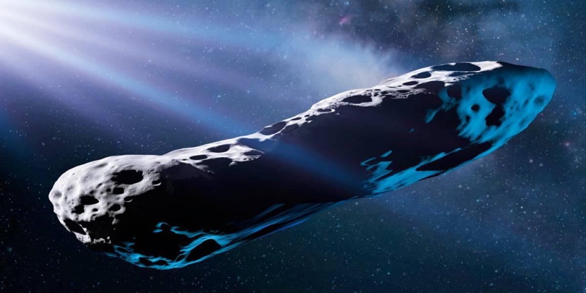 O passado violento do Oumuamua, o asteroide interestelar em forma de charuto