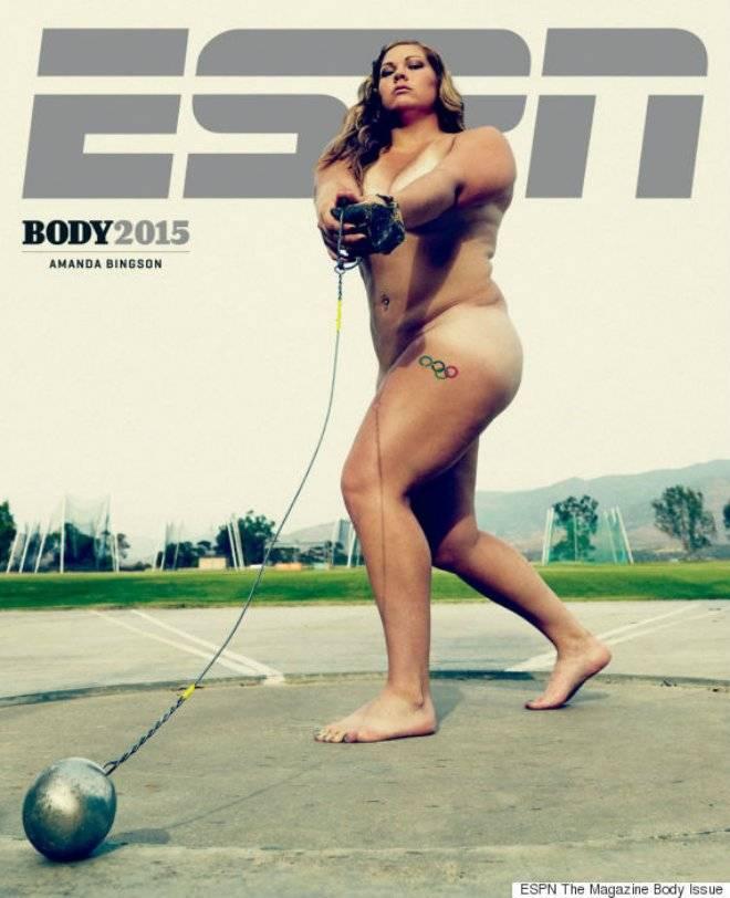 Atletas Se Desnudan En Portada De Espn
