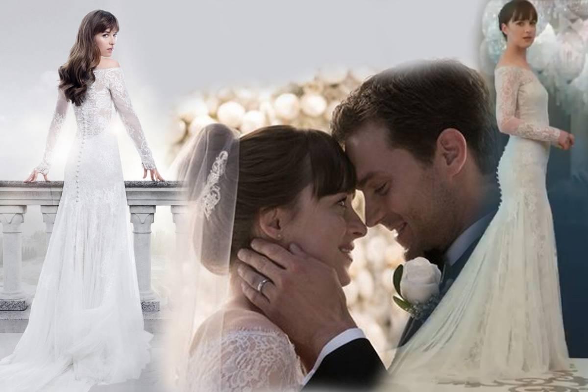 Quieres un vestido de novia como el de Anastasia en 50 Sombras ...