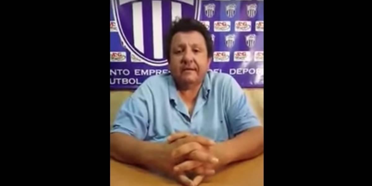 Madre de otro joven futbolista acusó a presidente de Rubio Ñu de tratar de abusar de su hijo