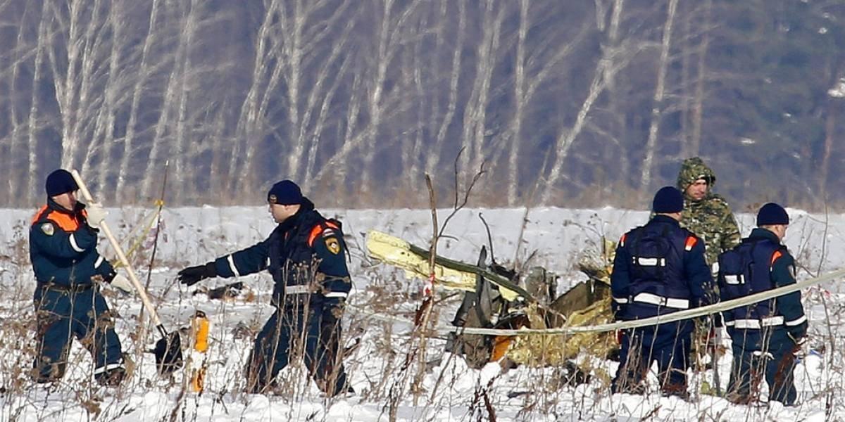 Rusia busca víctimas de accidente aéreo