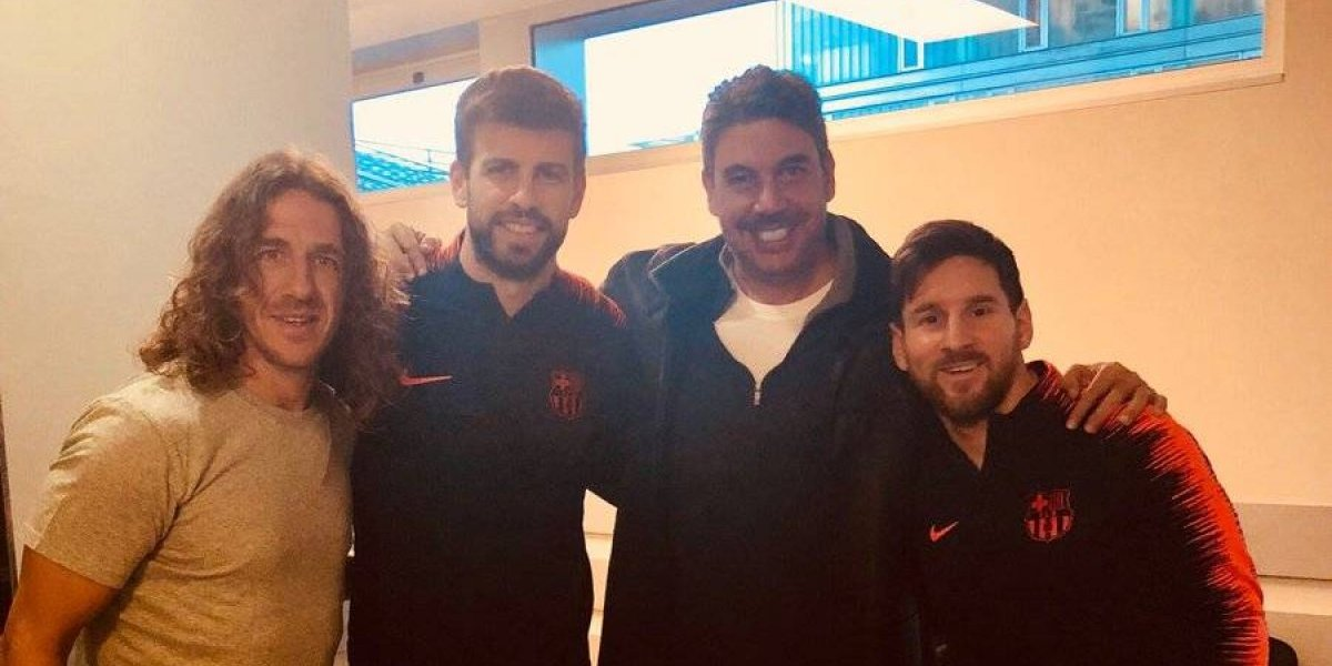 Elías Ayub 'trollea' a Messi en Twitter