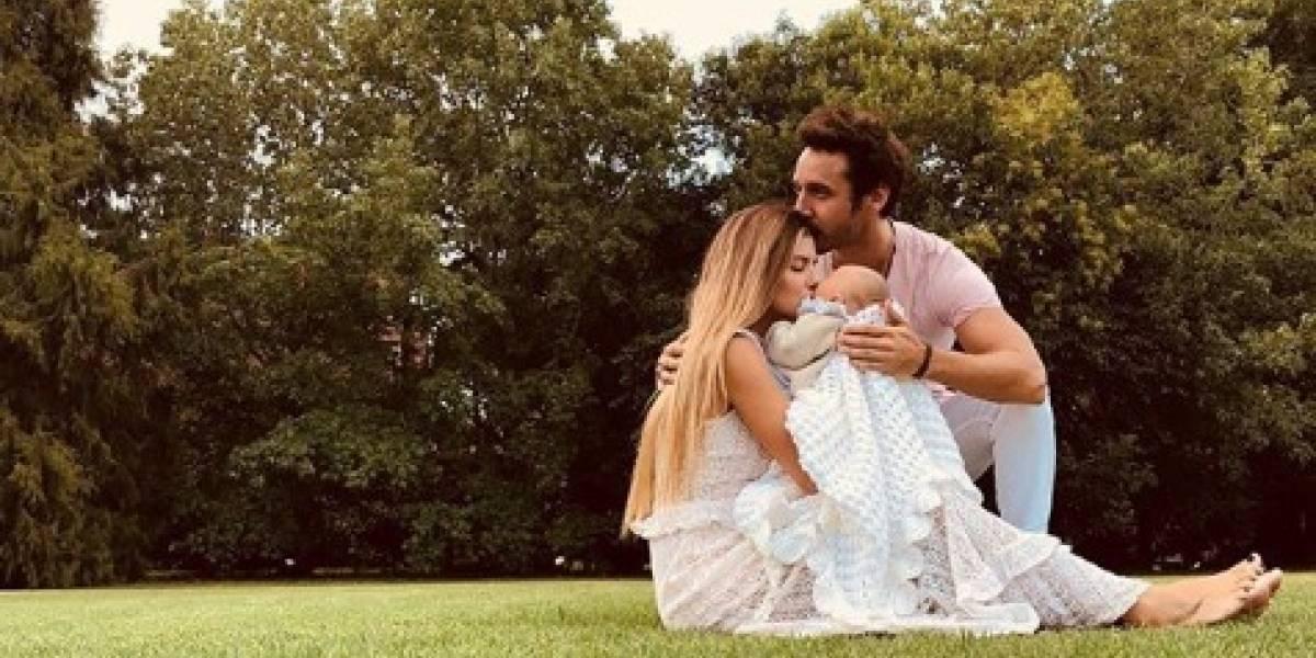 """Benjamín Vicuña y """"China"""" Suárez suben las primeras fotos de su hija"""