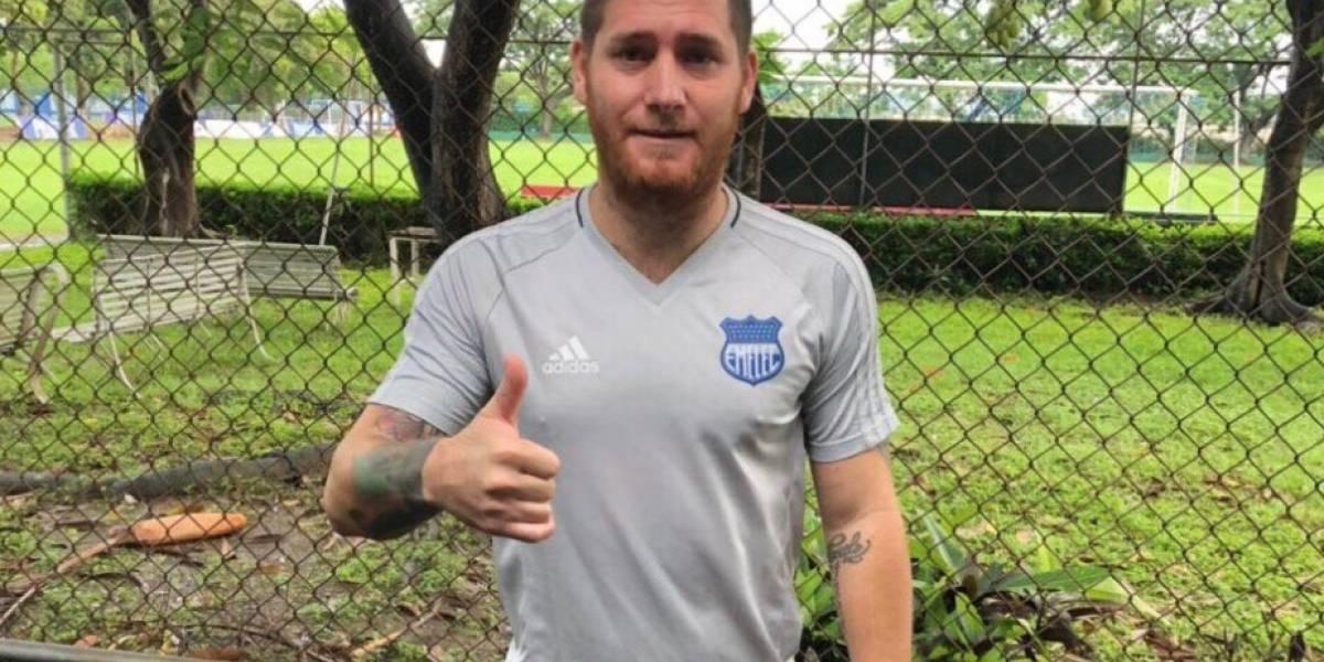 Emelec confirma contratación de Francisco Silva