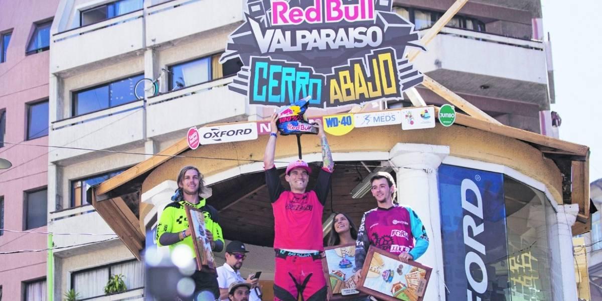 Valparaíso Cerro Abajo consagró a su bicampeón con un chileno en el podio