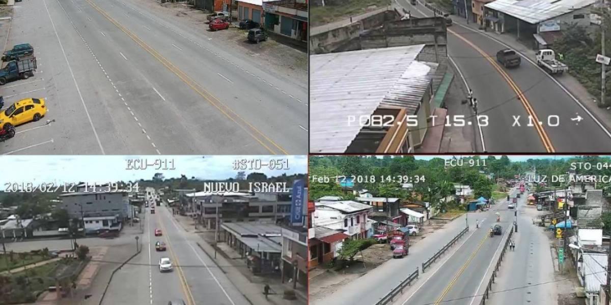 Este 13 de febrero vehículos pesados no podrán circular por la vía Alóag - Santo Domingo