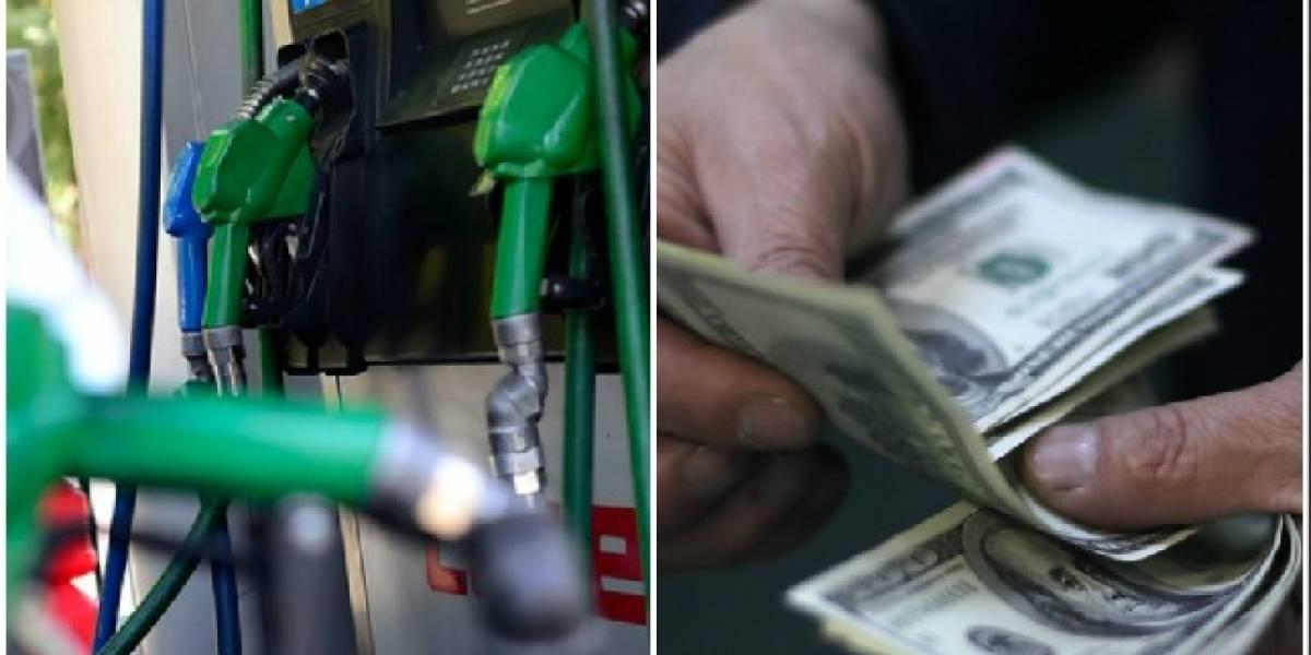 El dólar está barato, pero bencinas no paran de subir
