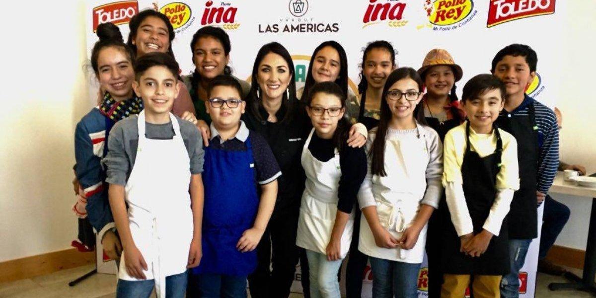 Niños competirán para demostrarle sus talentos culinarios a Mirciny Moliviatis