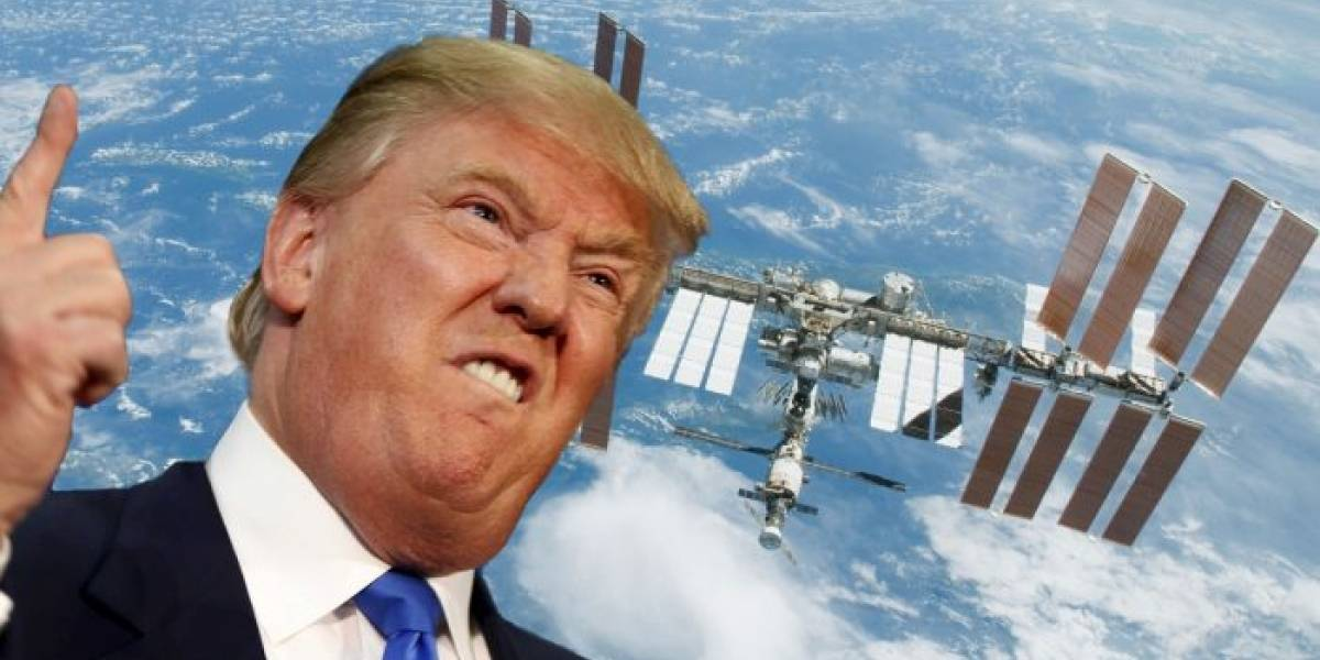 Donald Trump quiere privatizar la Estación Espacial Internacional