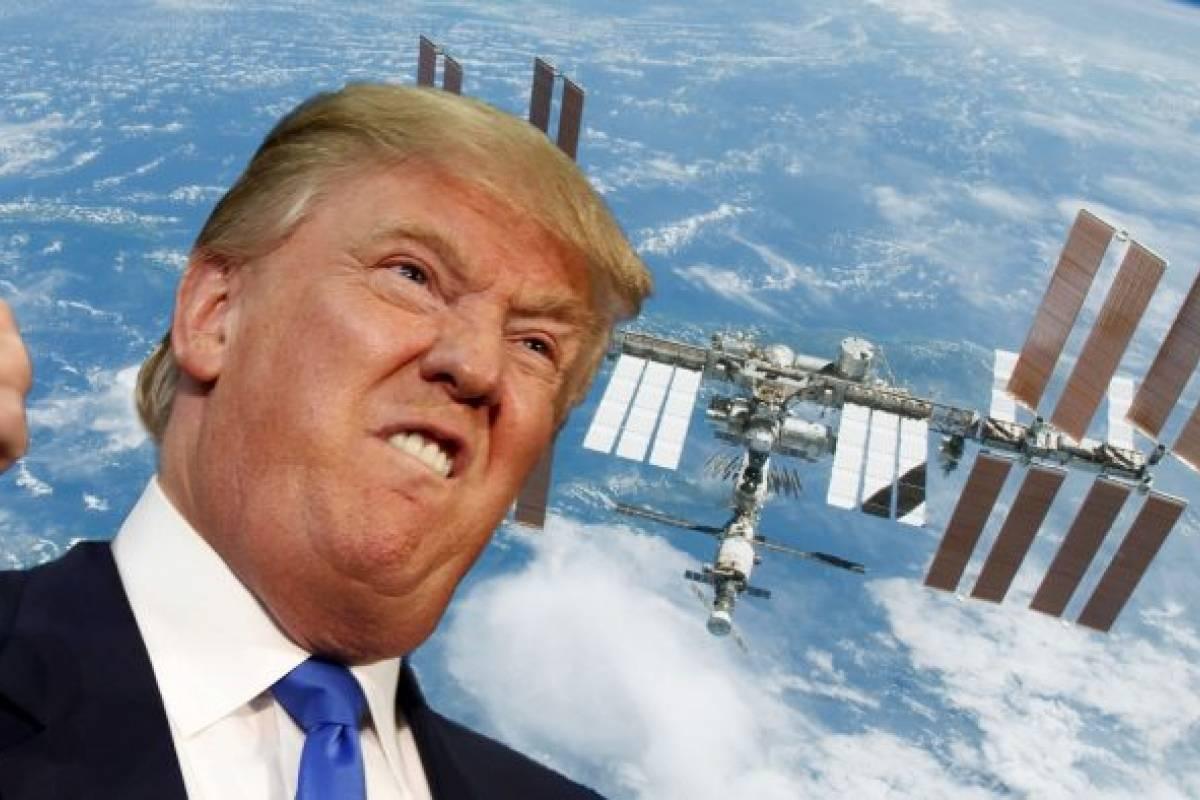 Donald Trump quiere privatizar la Estación Espacial Internacional