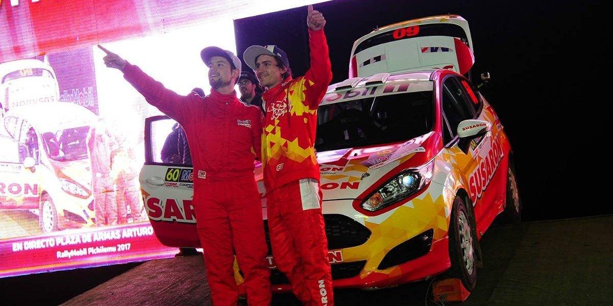 Emilio Fernández, el nuevo chileno que se prueba en el rally mundial