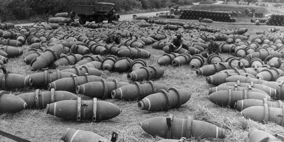 Bombas de la Segunda Guerra Mundial aún son una amenaza