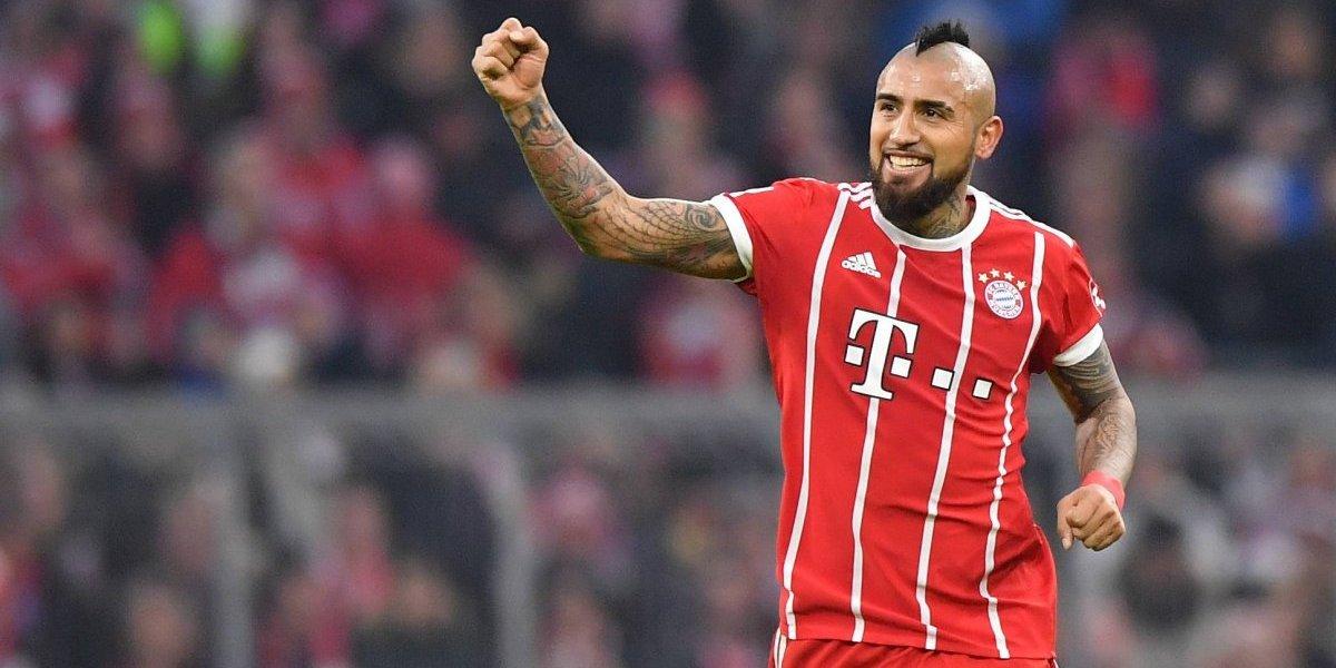 """Arturo Vidal le cierra la puerta a Mourinho: """"No pienso en un cambio, me siento muy bien en Bayern"""""""