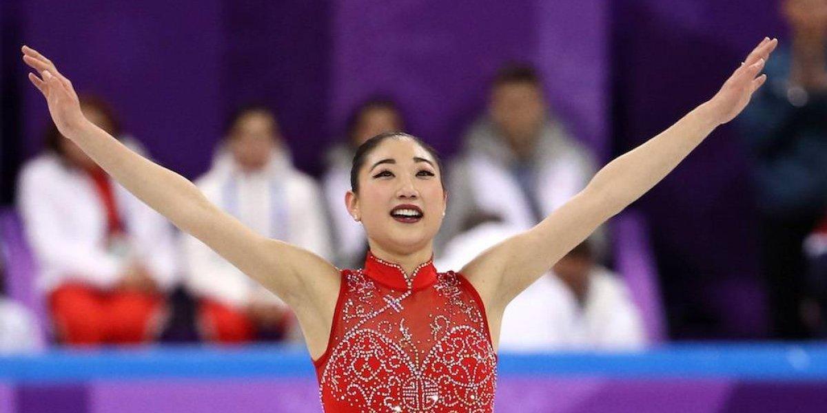 Patinadora Mirai Nagasu realiza espectacular salto en PyeongChang 2018
