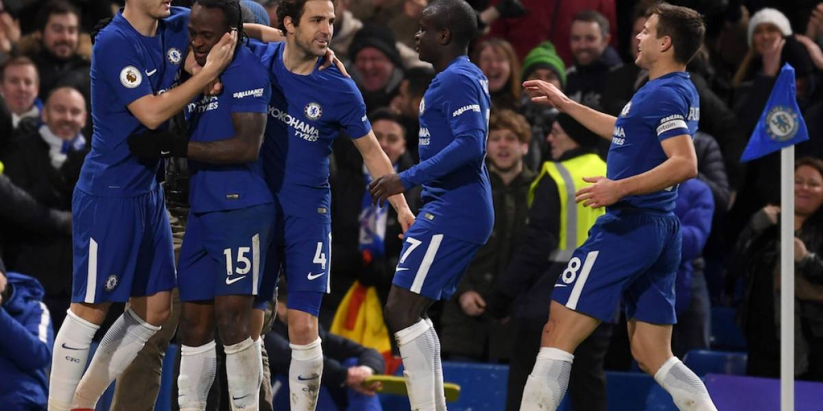Chelsea regresa a puestos de Champions League