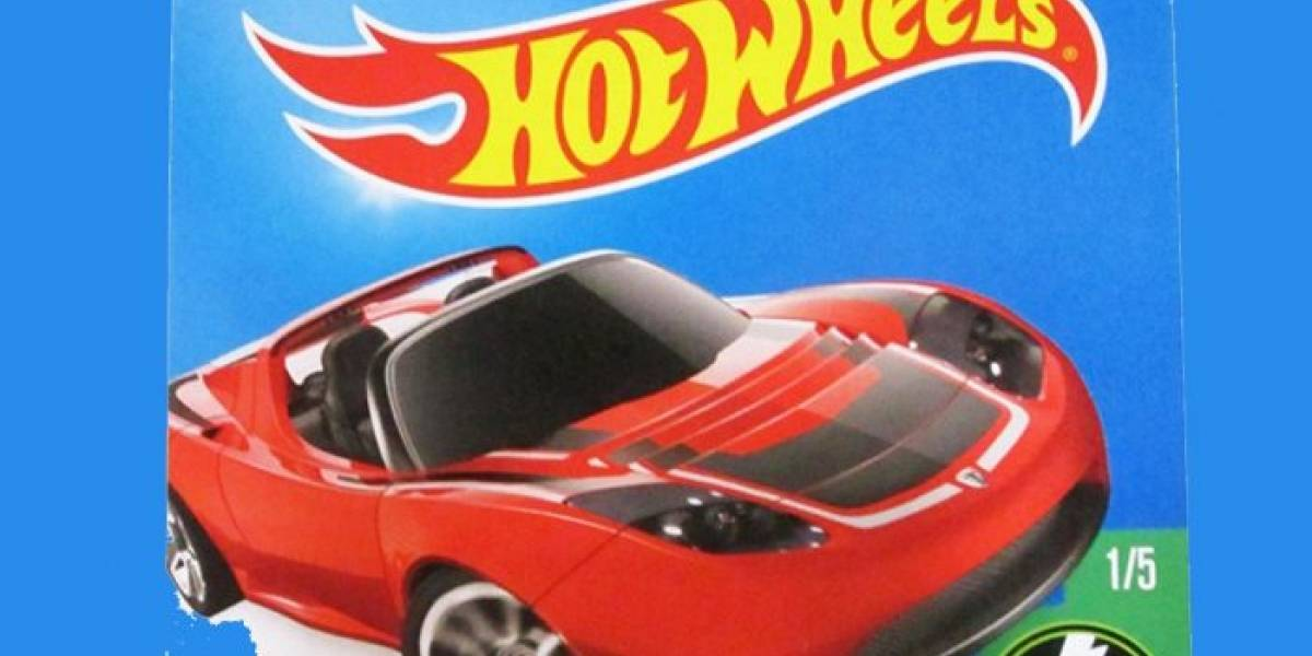 Hot Wheels del Tesla Roadster dispara su precio por el Falcon Heavy