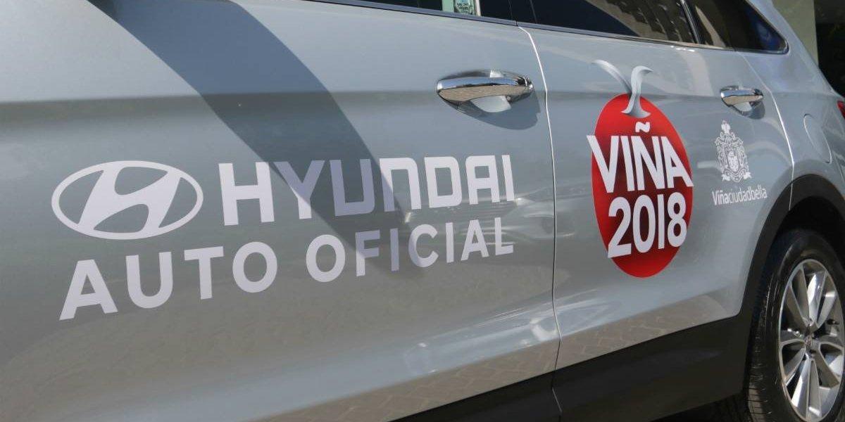 Hyundai vuelve a ser el auto oficial del Festival de Viña