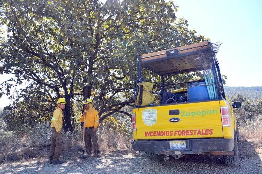 Blindan La Primavera y Bugambilias ante incendios forestales