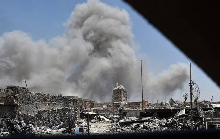 Bombardeos contra el Estado Islámico