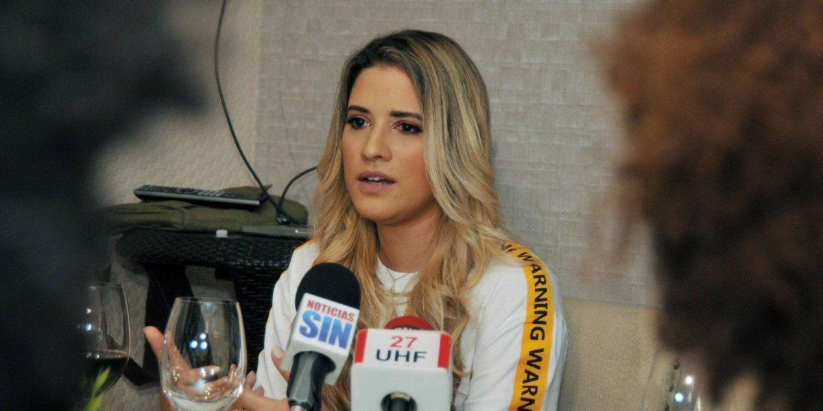 Nathalie Hazim lista para presentarse en Colombia